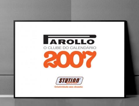 Parollo – O clube do Calendário 2007