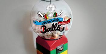 Ideas With Balls – Máquinas com Conteúdos estrambólicos